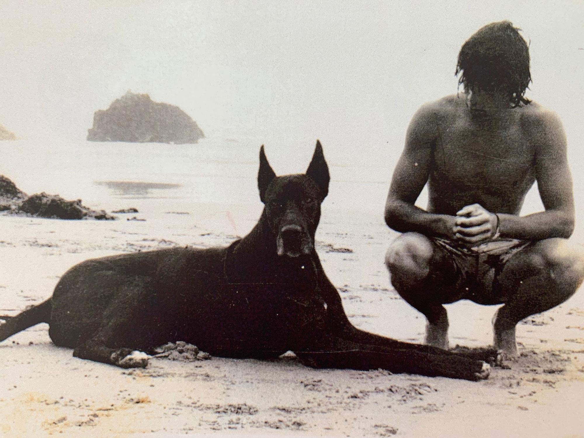 Full, el perro gran danés de Gabi López-Asiaín
